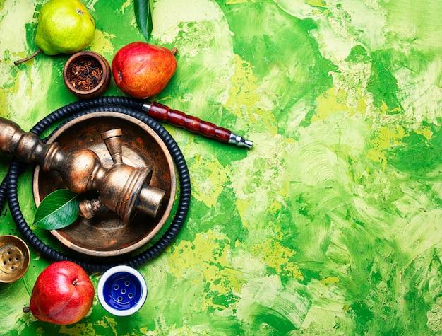 Shisha turco con tabacco di pera