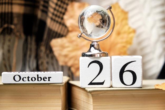 Ventiseiesimo giorno del mese di autunno del calendario ottobre