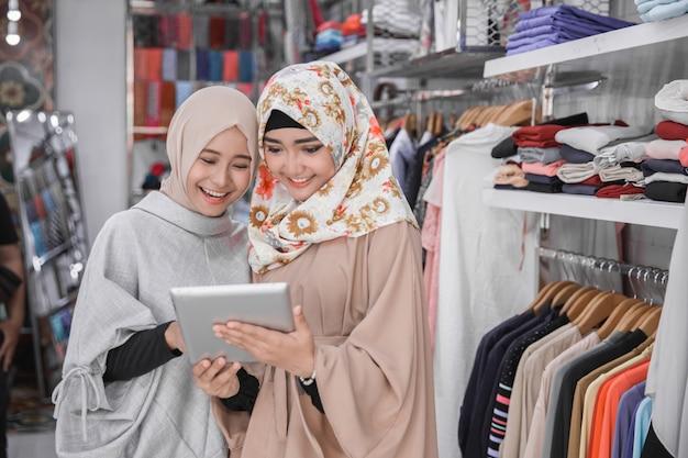 Due soci d'affari musulmani