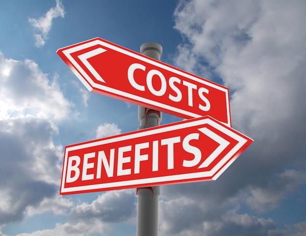 Due segnali stradali: costi e benefici