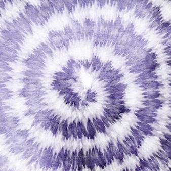 Tye dye colorato sfondo bianco a spirale