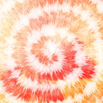 Tye dye arancione giallo colorato sfondo sfumato sfondo di vernice dell'acquerello