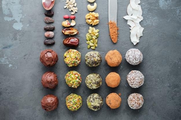 Tipo di stile di vita dolce crudista vegan foodism diet
