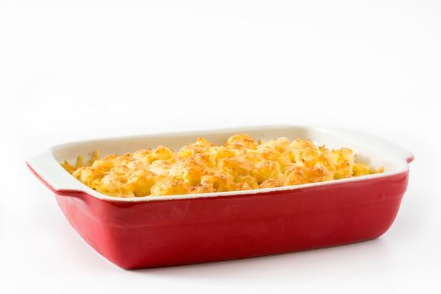 Maccheroni e formaggio tipici americani
