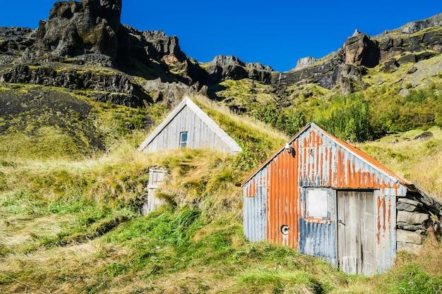 Una tipica casa islandese