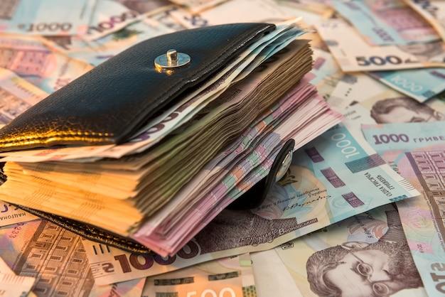 Uah, il portafoglio da uomo nero è pieno di soldi
