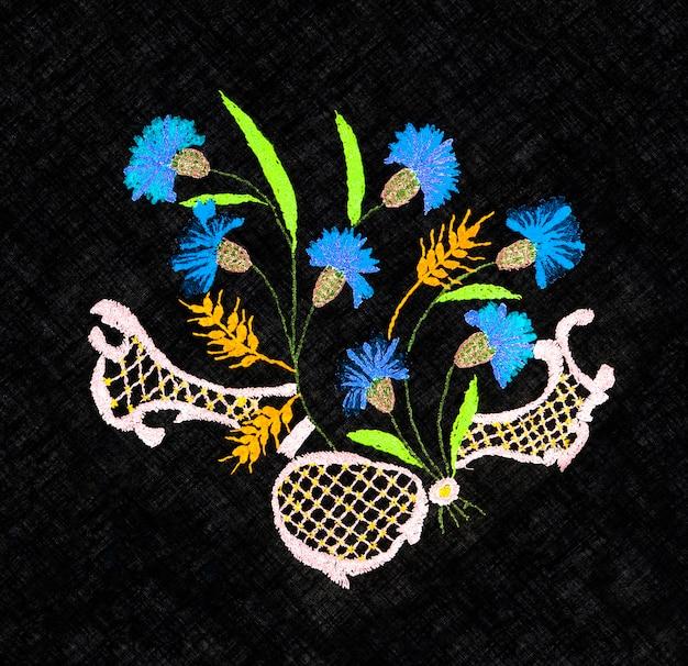 Ricamo a mano ucraino ornamento popolare ricamato ricamo in stile retrò