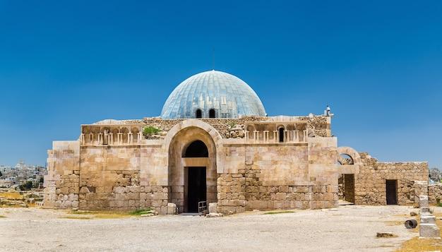 Palazzo degli omayyadi presso la cittadella di amman - giordania