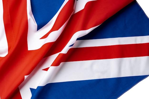 Bandiera union jack del regno unito,