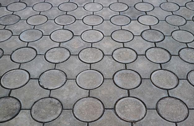 Modello unico di una pavimentazione in cemento per sfondo astratto