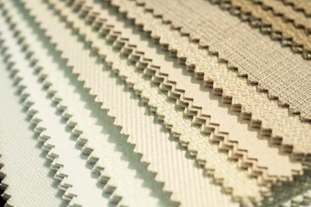 Campioni di tessuti per tappezzeria
