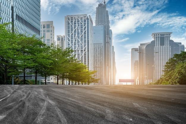 Strade urbane e architettura moderna
