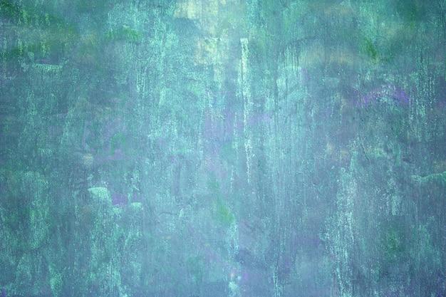 Muro urbano, la superficie del cemento è blu, il colore della trama del cemento