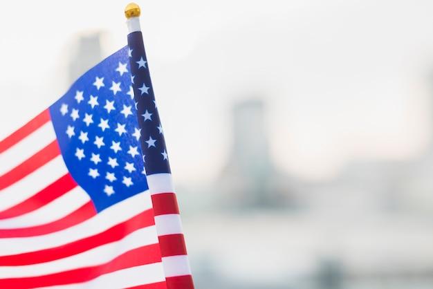 Bandiera usa per il giorno dell'indipendenza Foto Premium