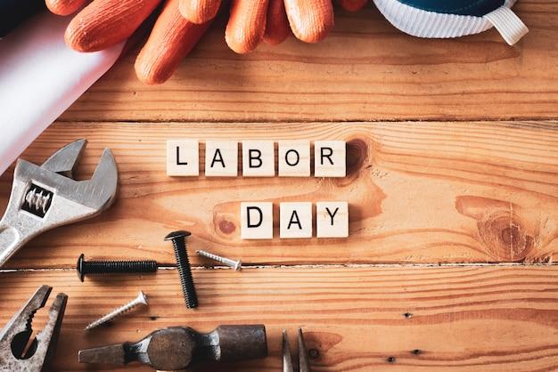 Concetto usa labor day, primo lunedì di settembre
