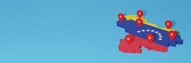 Utilizzo di pinterest in venezuela per le esigenze della tv sui social media e della copertina del sito web