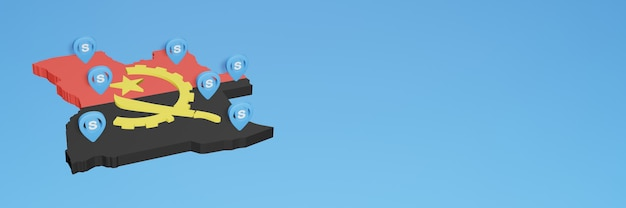 L'uso di skype in angola per le esigenze dei social media tv e lo sfondo del sito web coprono uno spazio vuoto