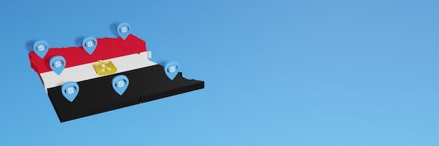 L'uso di skype in egitto per le esigenze dei social media tv e lo sfondo del sito web coprono uno spazio vuoto
