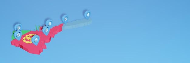 L'uso di skype in eritrea per le esigenze dei social media tv e lo sfondo del sito web coprono uno spazio vuoto