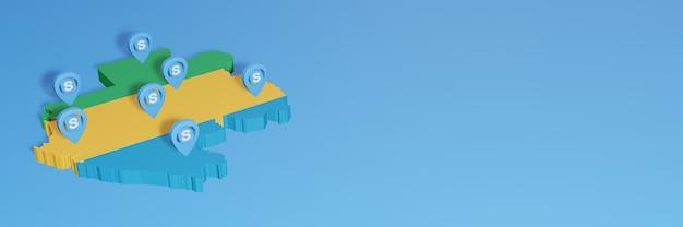 L'uso di skype in gabon per le esigenze dei social media tv e lo sfondo del sito web coprono uno spazio vuoto