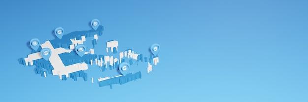 L'uso di skype in grecia per le esigenze dei social media tv e lo sfondo del sito web coprono uno spazio vuoto