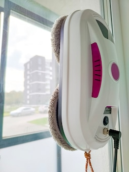 Finestra di vetro di lavaggio del robot dell'aspirapolvere robot lavavetri