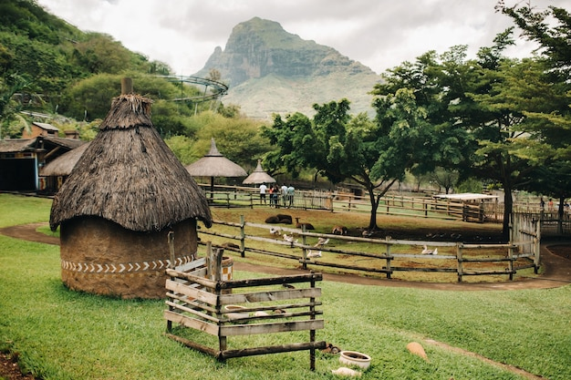Valebat casela park, casela nature valebat strutture a mauritius safari park dell'isola di mauritius.
