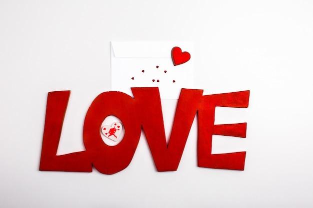 Valentin sentimenti di intestazione cuori presenti