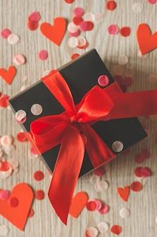 Cartolina di san valentino. concetto di amore per la festa della mamma e il giorno di san valentino.