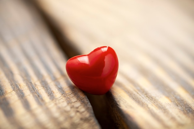 Superficie di san valentino con cuori