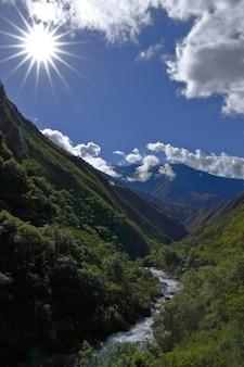 Valle san fernando a santo domingo de acobamba