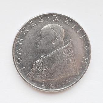 Moneta in lire vaticane