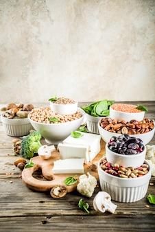 Ingredienti vegani per ricetta