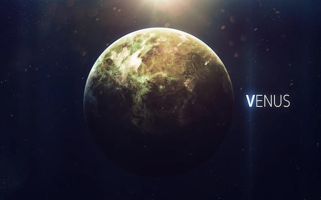 Venere - la bellissima arte ad alta risoluzione presenta il pianeta del sistema solare