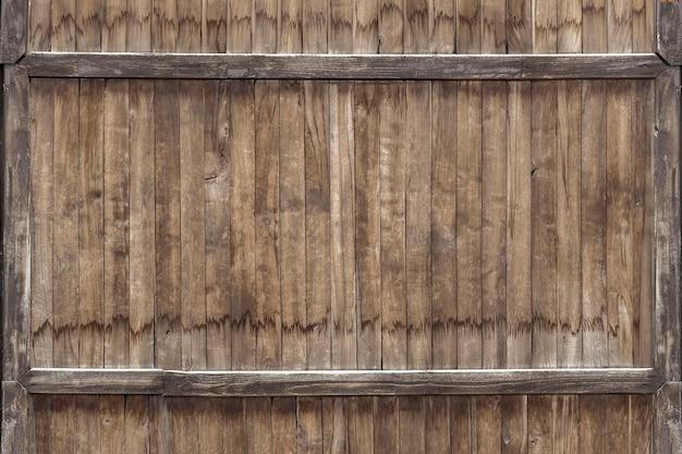 Struttura di legno verticale
