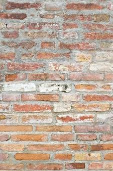 Fondo di struttura del muro di mattoni molto vecchio