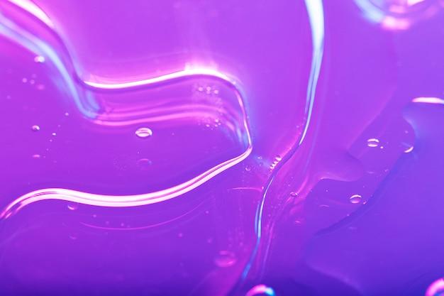 Sfondo liquido viola neon vibrante