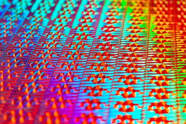 Spruzzi di neon vibranti sfondo di colori succosi di arte moderna tecnica di pittura