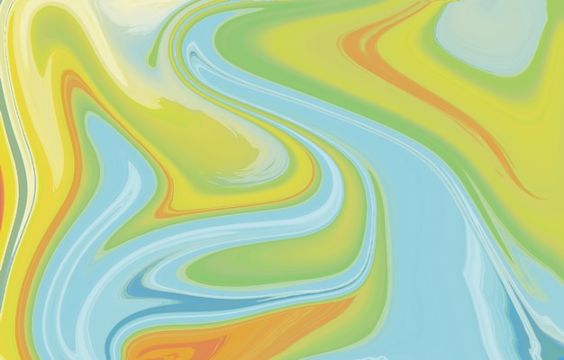 Vibrante e liscia sfumatura colori tenui onda forma geometrica texture fluida arte