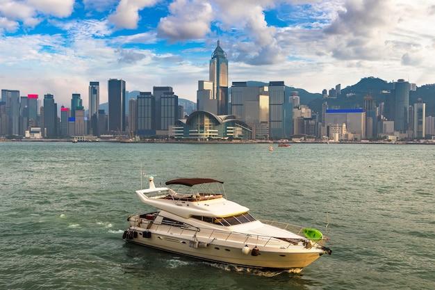 Victoria harbour a hong kong