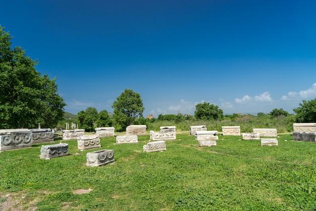 Veduta dell'antica città di efeso