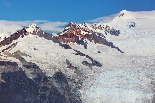 Vista dal picco di donoho, alaska