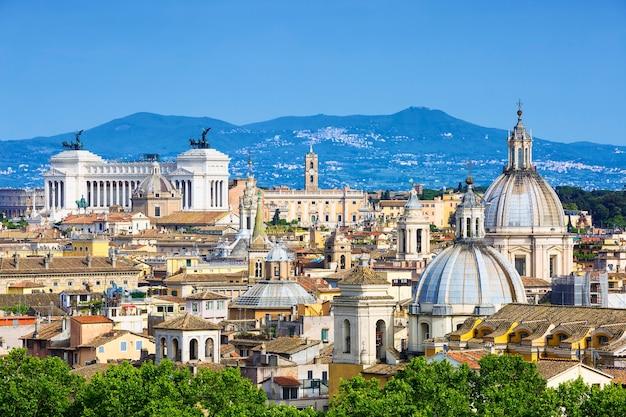 Veduta di roma, italia, europa