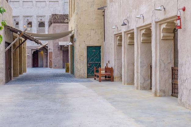 Vista delle strade della vecchia città araba