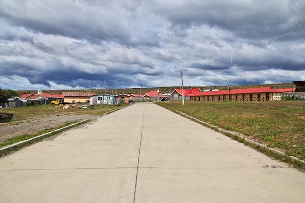 Il villaggio in patagonia, cile