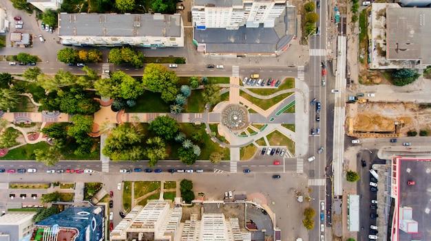 Vinnytsia, ucraina - 8 agosto 2017: fontana