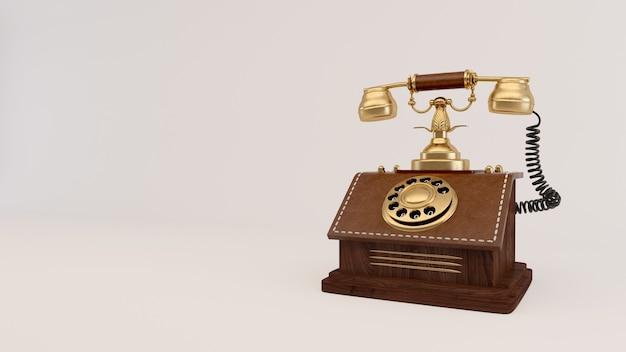 Telefono analogico vintage