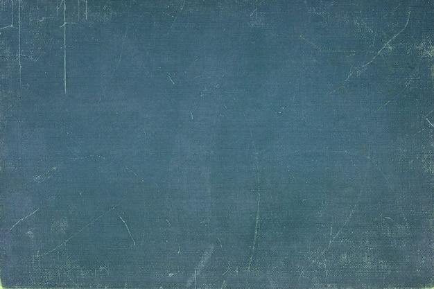 Copertina del libro blu vintage