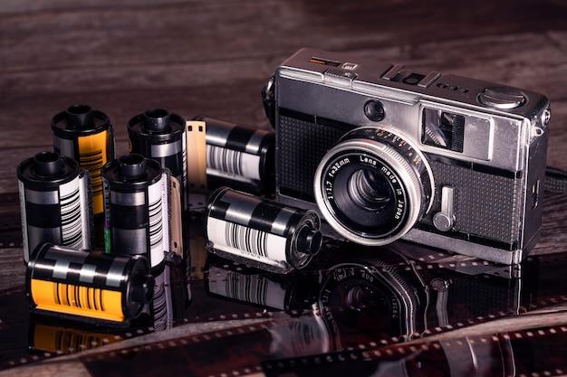 Pellicola fotografica vintage