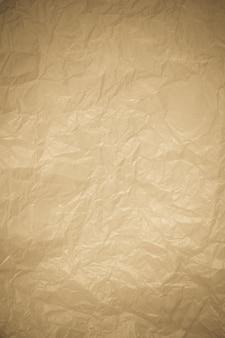 Sfondo di carta riciclata stropicciata vintage